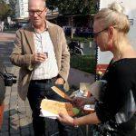 Die SCHULE der Sozialen Kunst präsentierte sich am 24.09.auf der PicnicArt 2017 im Quartier KreativeMitte in Hamm.