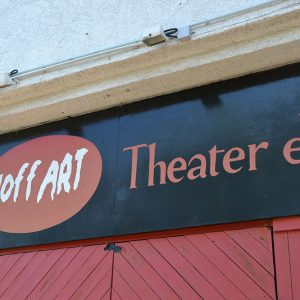 HoffART-Theater - Der Eingang